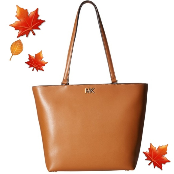 854b2e10b7d9 New Michael Kors Mott Medium Tote-acorn